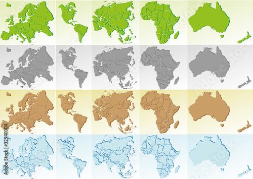Globus Karte.Weltkugel Weltkarte Landkarte Globus Karte 8 Buy This