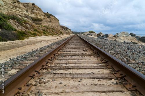Fotografia, Obraz  Train tracks