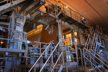 Pulp And Paper Mill – Moving Paper Tape Controlled With Camera