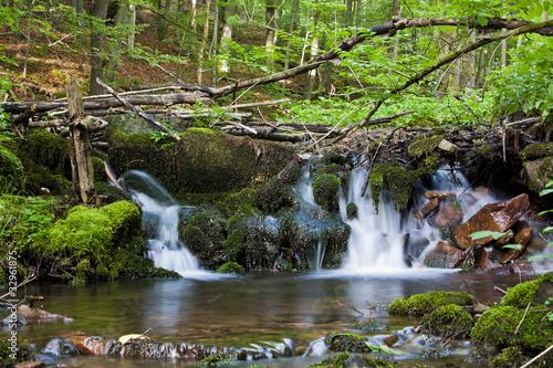 Photo  Kleiner Wasserfall