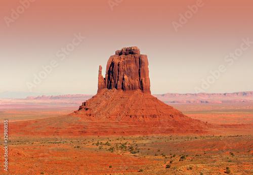 Poster Brick canyon