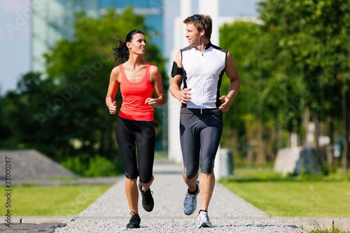 Foto  Sport und Fitness in der Stadt