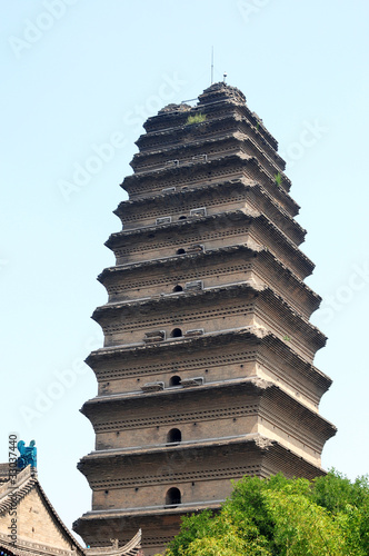 Foto op Plexiglas Xian Ancient pagoda