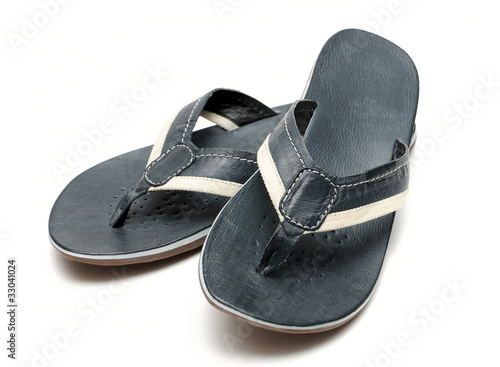 538388ec2322 Mens sandals on a white background - Buy this stock photo and ...