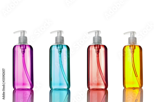 Fotografie, Obraz  soap shampoo bottle beauty hygiene