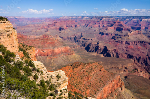 Obraz na płótnie Grand Canyon on a sunny day, Arizona