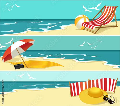 Summer banners #33047094