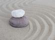 pierres zen en équilibre