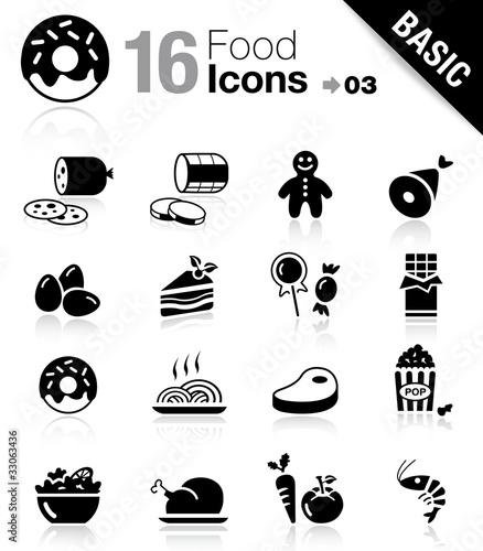 Photo Basic - Food Icons