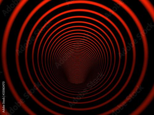 Poster Psychedelique Inside cilinder