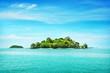 Leinwandbild Motiv Tropical island