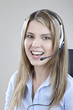 canvas print picture - call-center