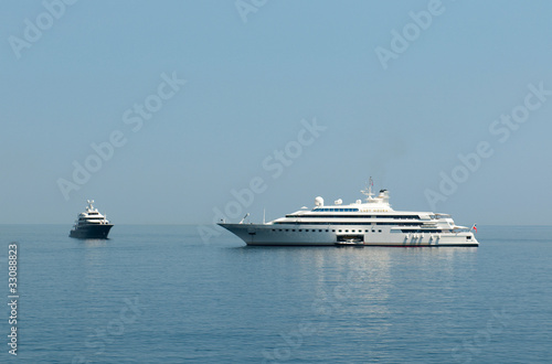 One Of The Worlds Mega Yacht Lady Moura In Monaco Buy This Stock