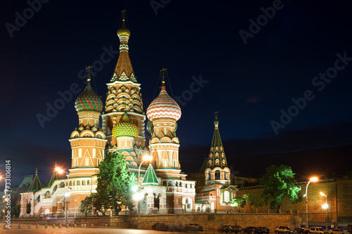 Wall Murals Moscow St Basil's Cathedral