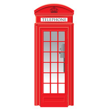 Red Telephone Box - London - V...