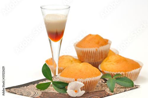 Photo  muffiny z likierem kawowym