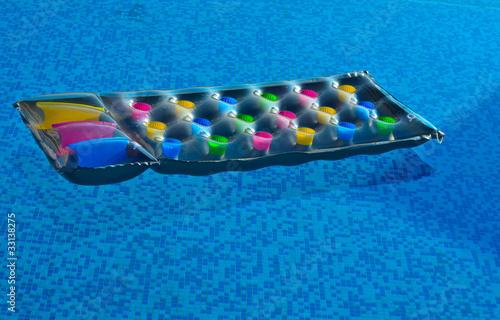 Fotografie, Tablou Colourful inviting lilo