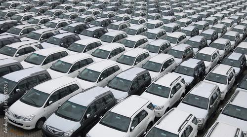 Photo  cars pattern