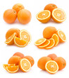 collection of orange images