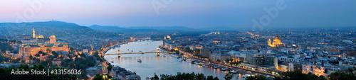 Papiers peints Budapest Budapest Panorama Night 1