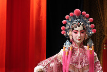 Chinese Opera Dummy And Red Cl...