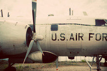 U.S. Air Force Vintage Plane