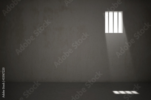 Obraz na plátne Cellule de prison 1