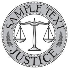 Scales Of Justice Seal (symbol)