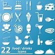 Essen und Trinken - Zeichen
