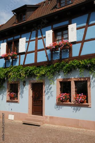 Foto op Canvas Tuin village d'Eguisheim en Alsace