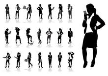 A Set Of Business Women
