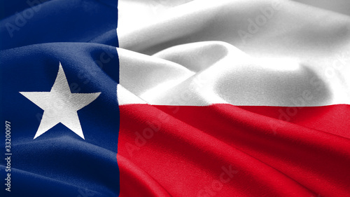 In de dag Texas Texas flag.