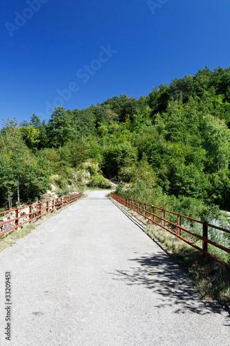Fotografía  strada secondaria - country road