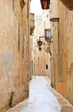Fototapeta Uliczki - Mdina narrow street