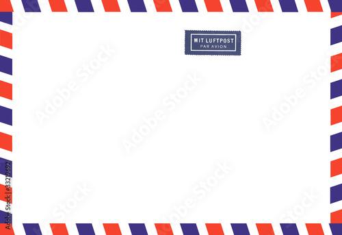 Luftpost Airmail Canvas Print