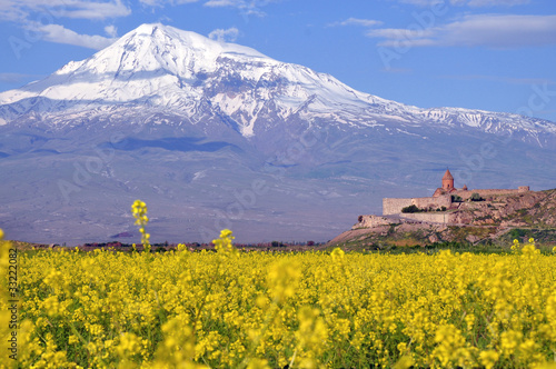 Ararat in Armenia Canvas Print