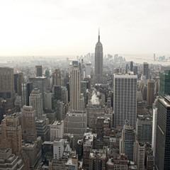 New York City skyline view from Rockefeller Center, New York