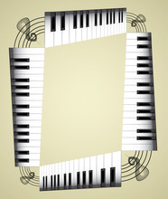 Abstract Piano Roll As The Sta...