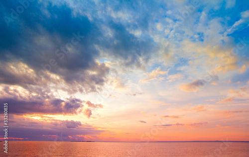 Tuinposter Canarische Eilanden Skyscape Clouds Beauty