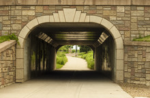 Bike And Pedestrian Tunnel