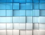 imagen 3d fondo con cubos