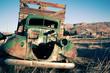 old abandoned farm truck junk farm rust auto antique