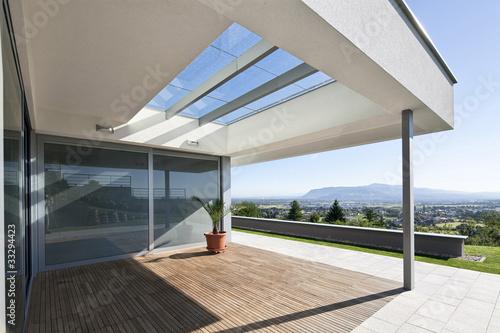 Fotografie, Obraz  beautiful modern house
