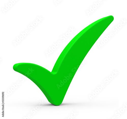 Der grüne Haken Stock Illustration | Adobe Stock