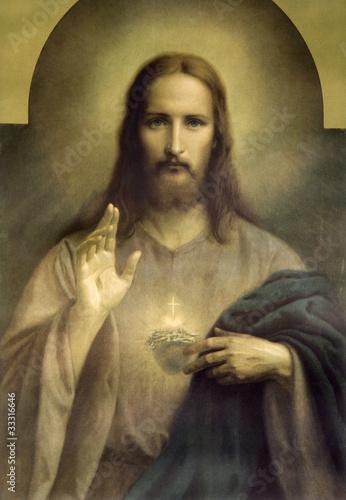 heart of Jesus Christ Tapéta, Fotótapéta
