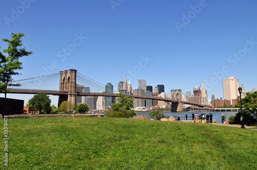 Photo  Brooklyn Bridge Park.