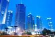 modern building skyline in shanghai