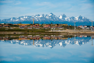 Mountain Reflections, Ushuaia, Tierra del Fuego, Argentina