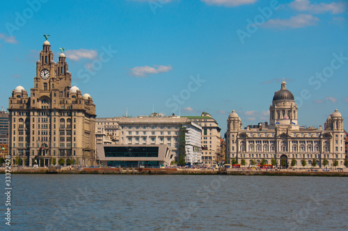 Photo  Liverpool Waterfront at Pier Head