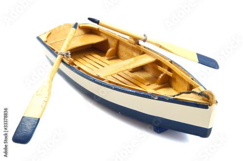 Foto-Doppelrollo - Row boat (von aquariagirl1970)